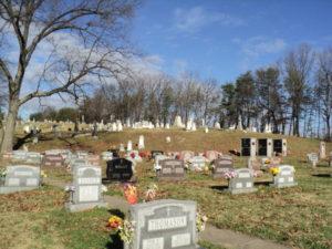 Saint Joseph Church, Fullerton MD Cemetery
